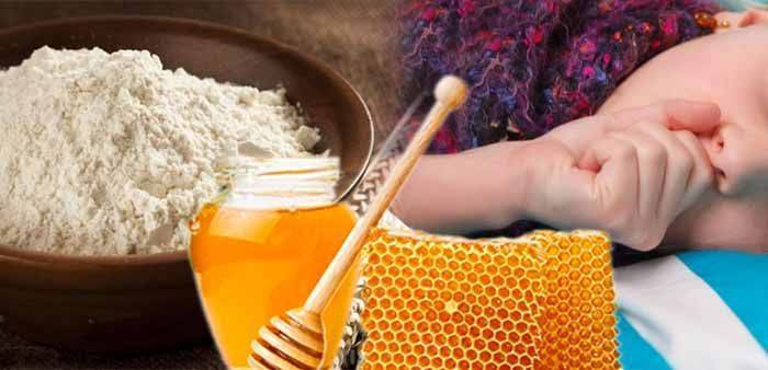 Лепешка от кашля для детей: медовая и картофельная, рецепт, как сделать на ночь, отзывы