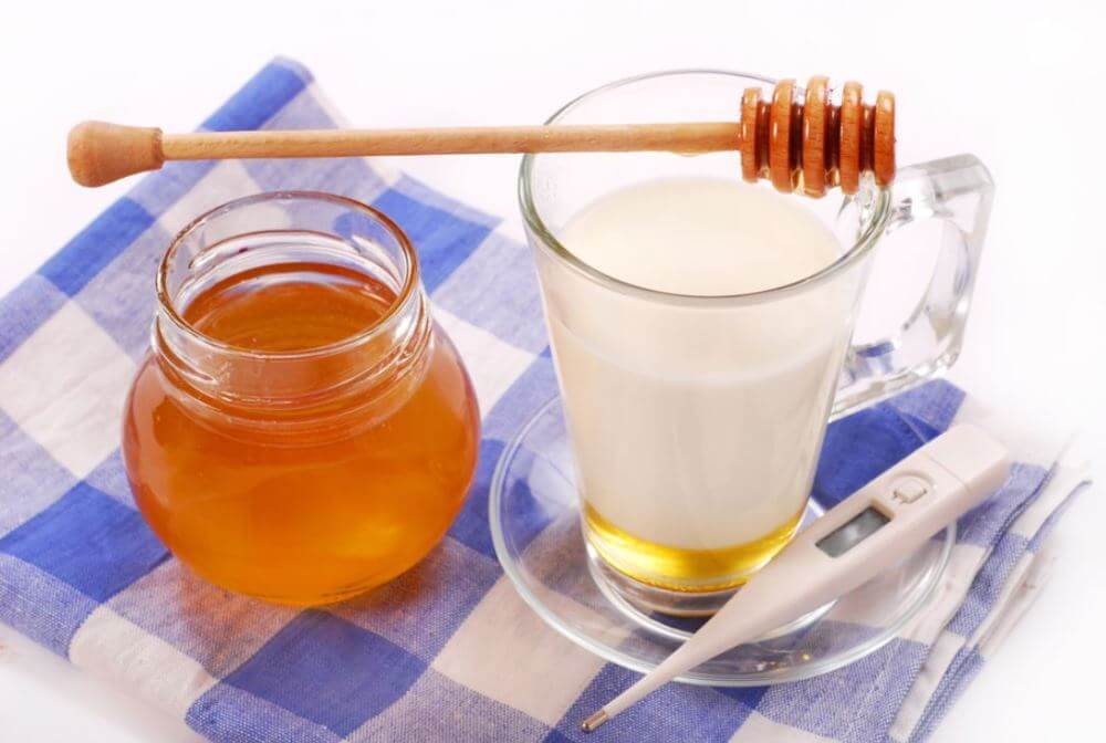 мед для горла