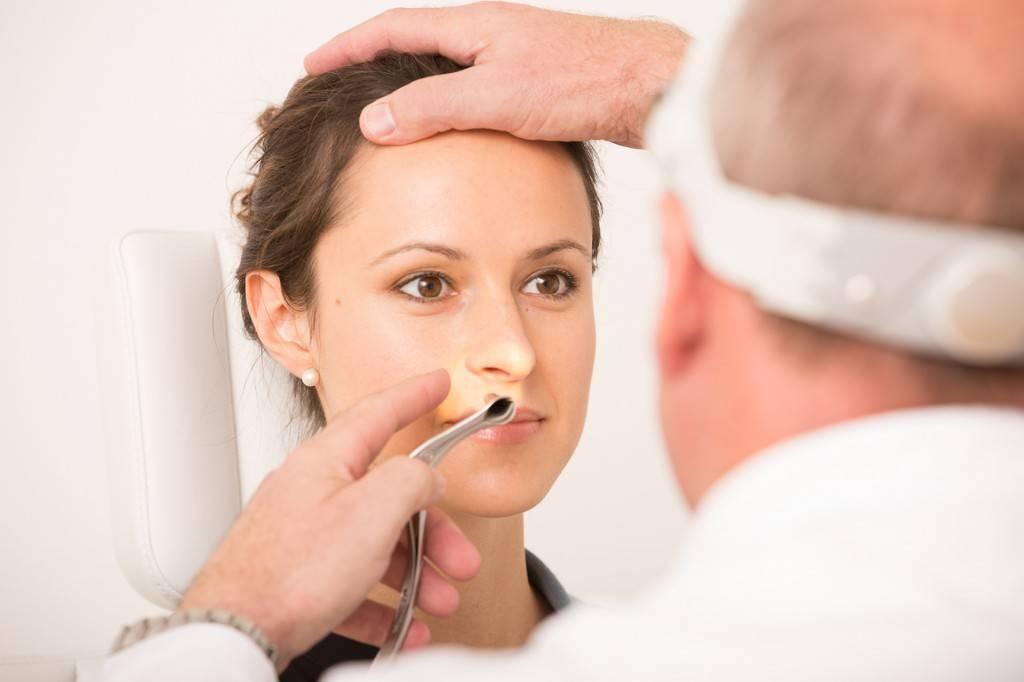 Инфекция при воспалении носа