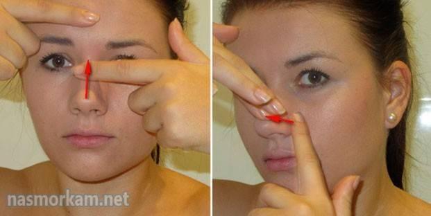 Чудо, чудо массаж от заложенности носа!!!