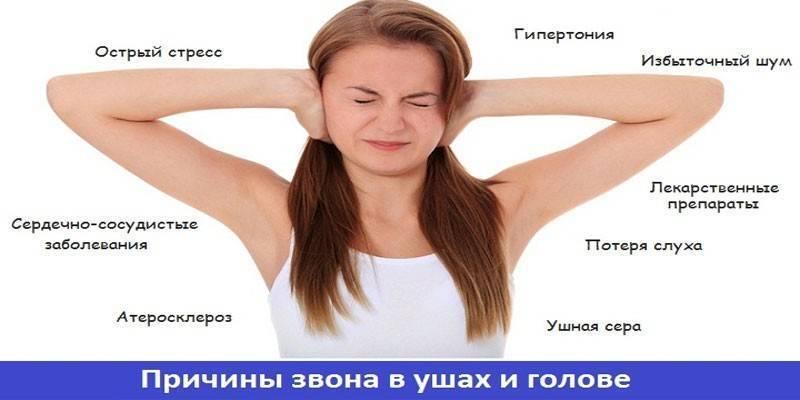 Каковы причины звона в ушах и голове и как от них избавиться?