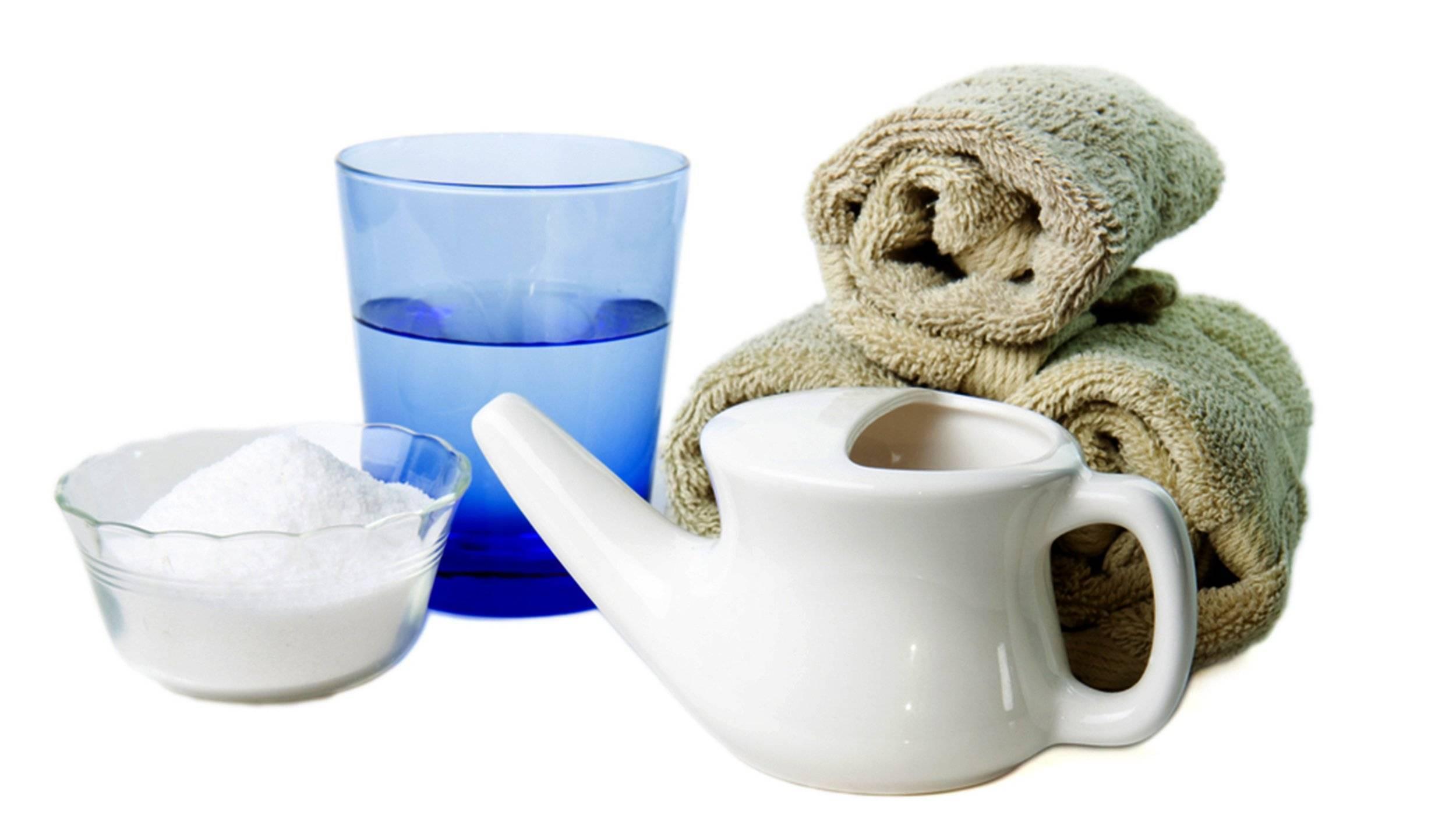 Чем промывать нос при гайморите в домашних условиях: рецепты растворов