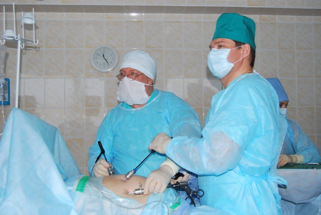 операция по удалению желчного пузыря лапароскопия