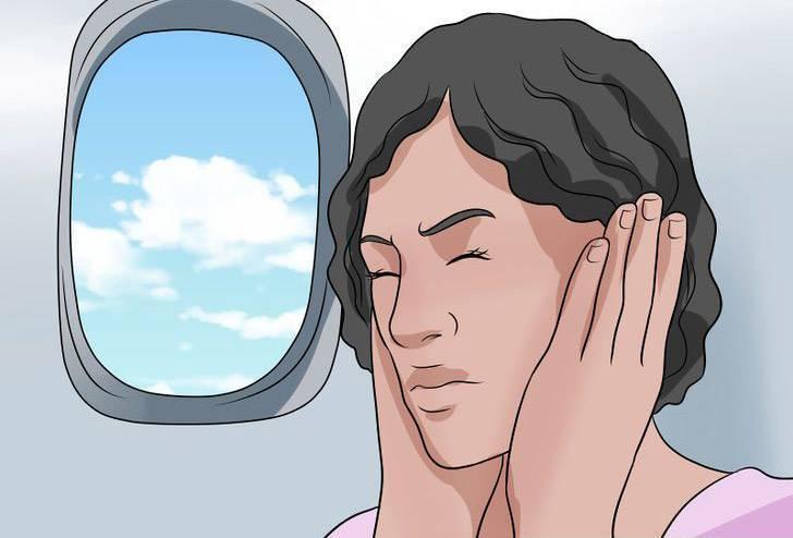 заложило ухо после самолета
