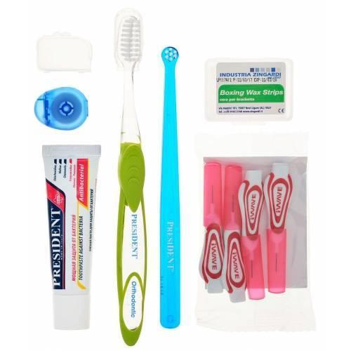зубные щетки для брекетов