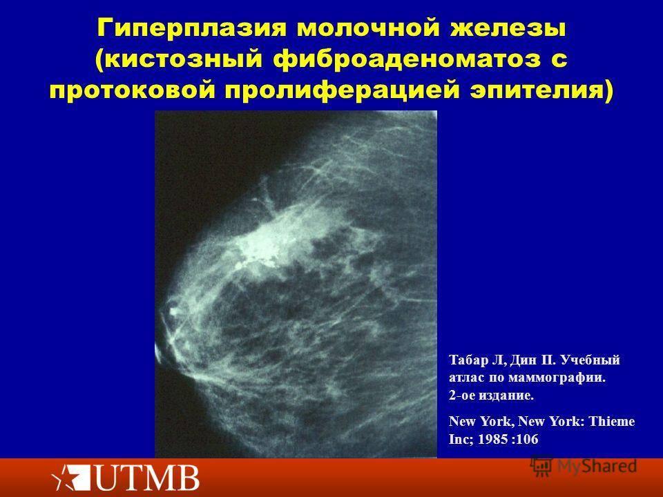 Мастопатия - лечение народными средствами