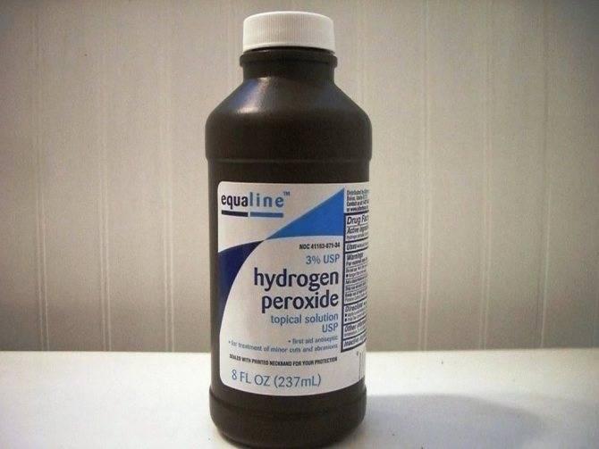 Перекись водорода при геморрое