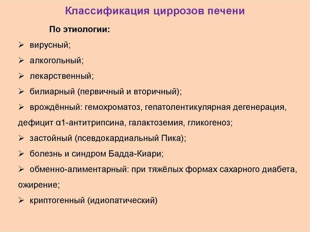 формулировка диагноза цирроз печени