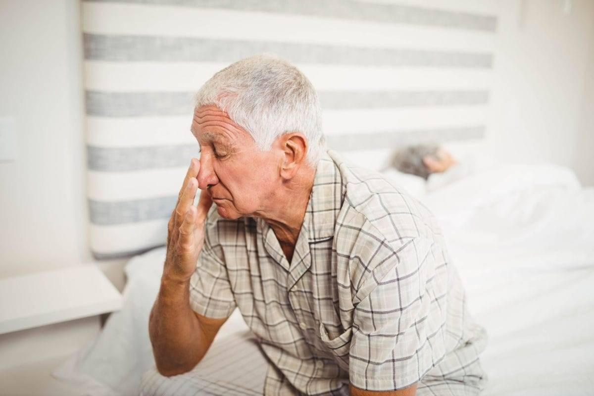 Лекарство от бессонницы для пожилых людей