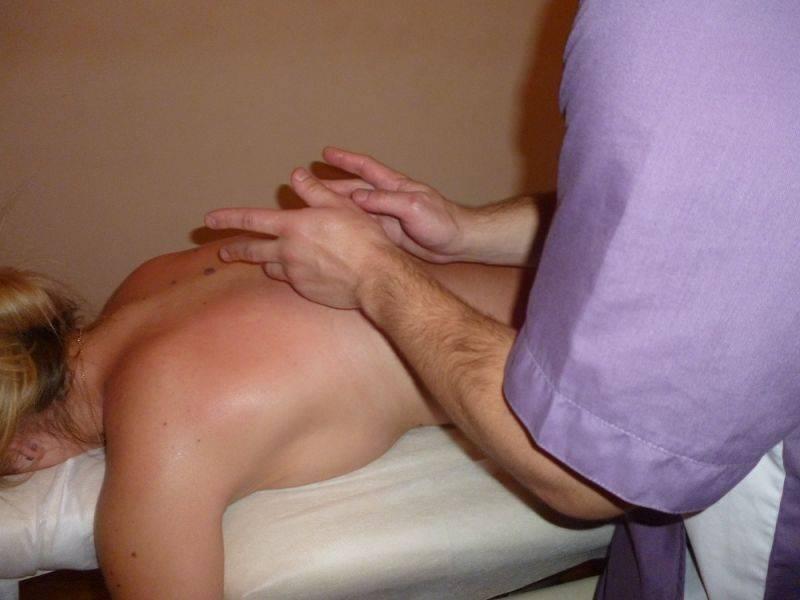 Точки массажа при кашле
