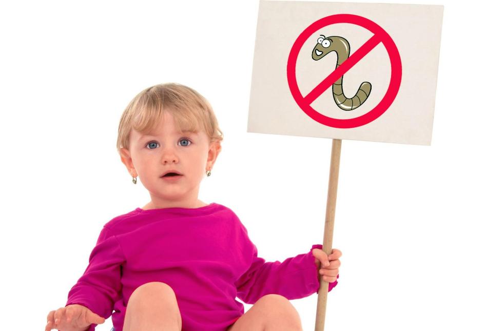профилактика паразитов у детей