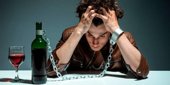 Определение стадий алкогольной зависимости