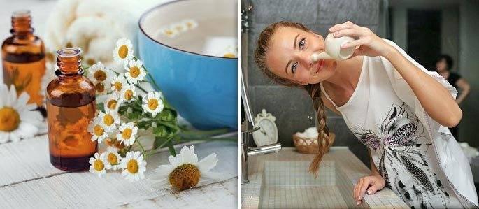 Промывание носа ромашкой— как правильно промывать нос ребенку ивзрослому