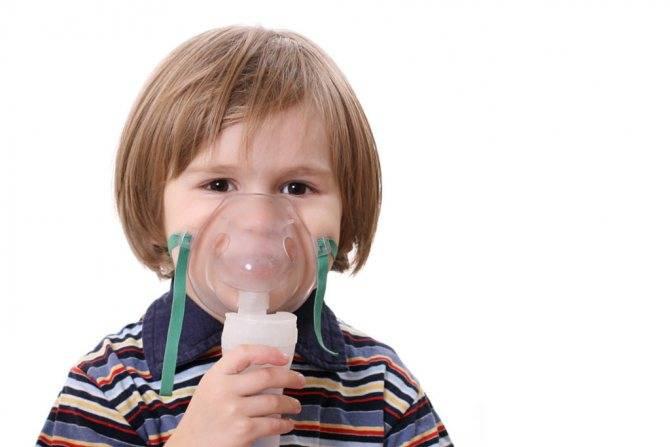 ингаляции при кашле у ребенка