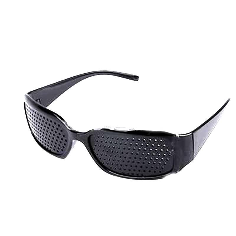 Как пользоваться очками с дырочками