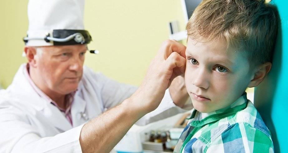 У ребенка температура и болит ухо что это значит