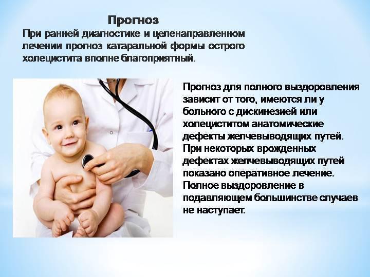 Холецистит симптомы и лечение у детей