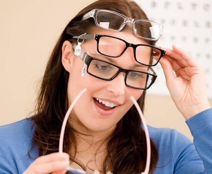 Оптическая коррекция зрения: очки для дальнозоркости