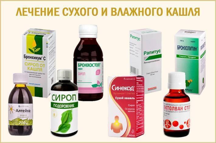 как лечить кашель ребенка