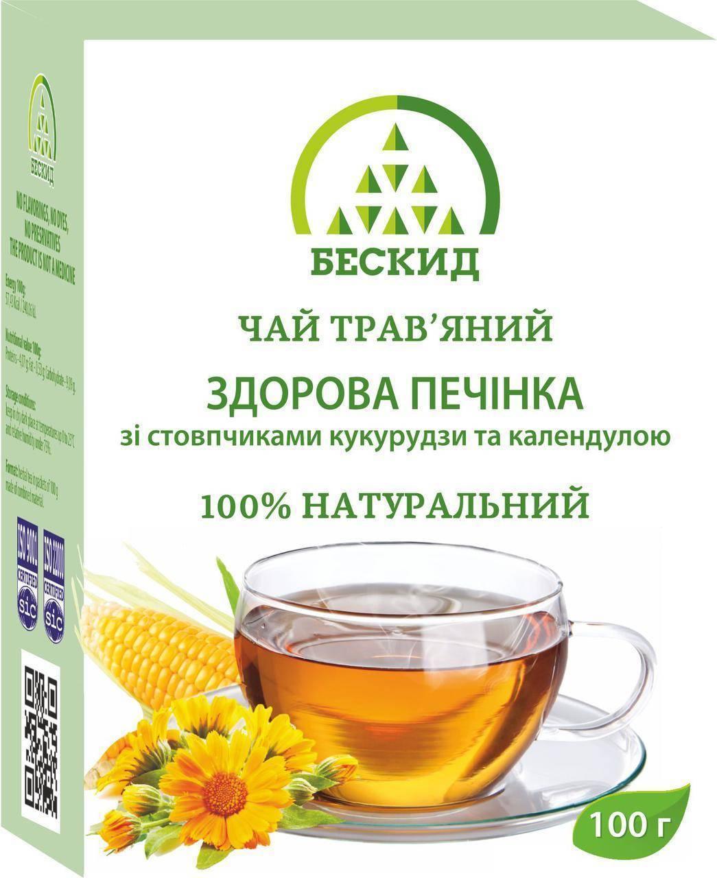 зеленый чай для печени