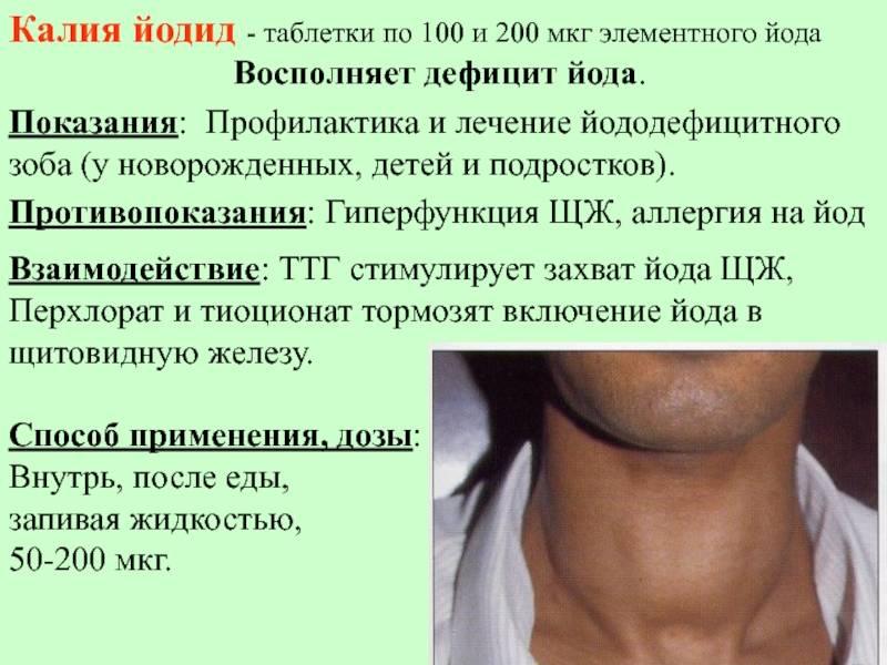 таблетки для щитовидной железы список