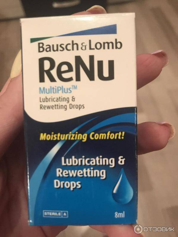 Renu, раствор для линз: инструкция по применению, состав и отзывы