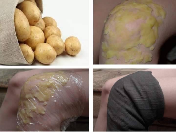 картошка в мундире от кашля
