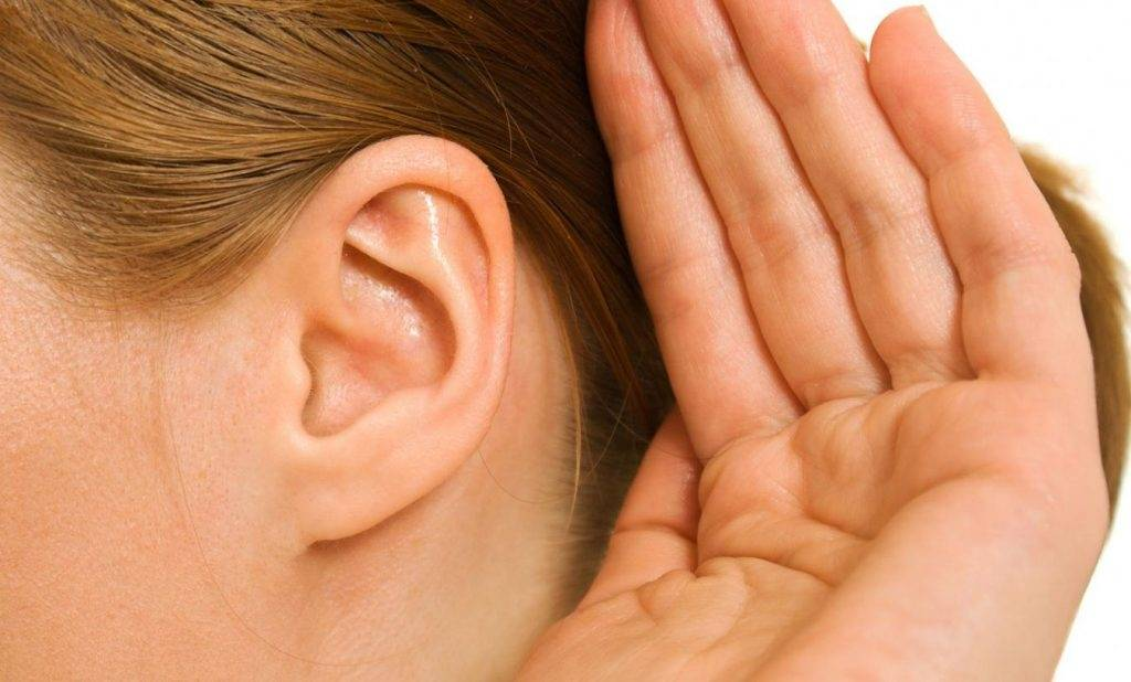 При жевании болит ухо