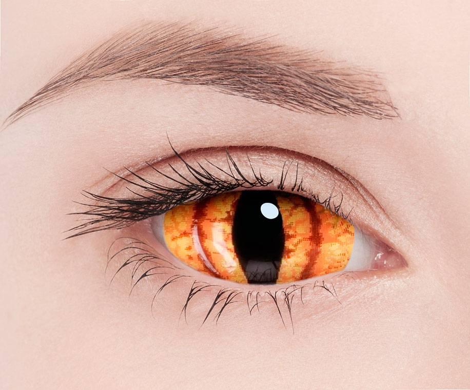 Как долго можно носить цветные линзы и насколько они вредны для зрения