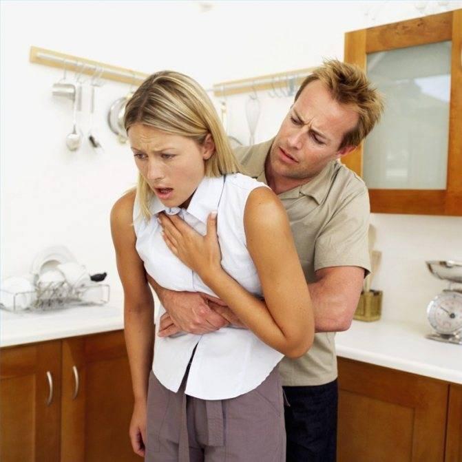 сухой удушающий кашель