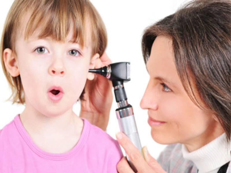 Хронический отит у детей
