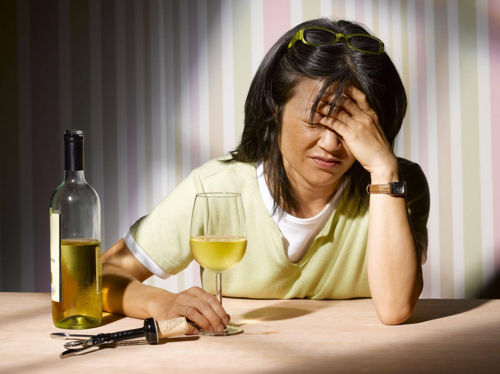 Женский алкоголизм и его последствия