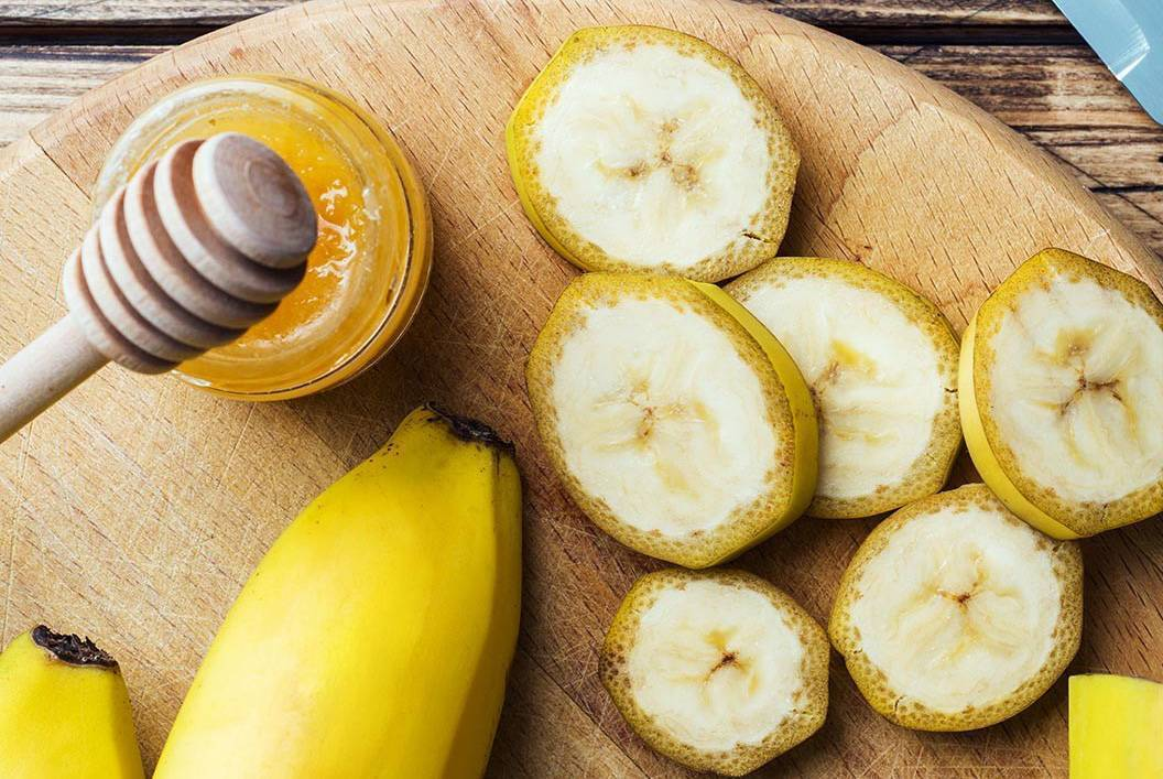 Вcе варианты коктейлей, отваров, сиропов и микстур от кашля на основе бананов