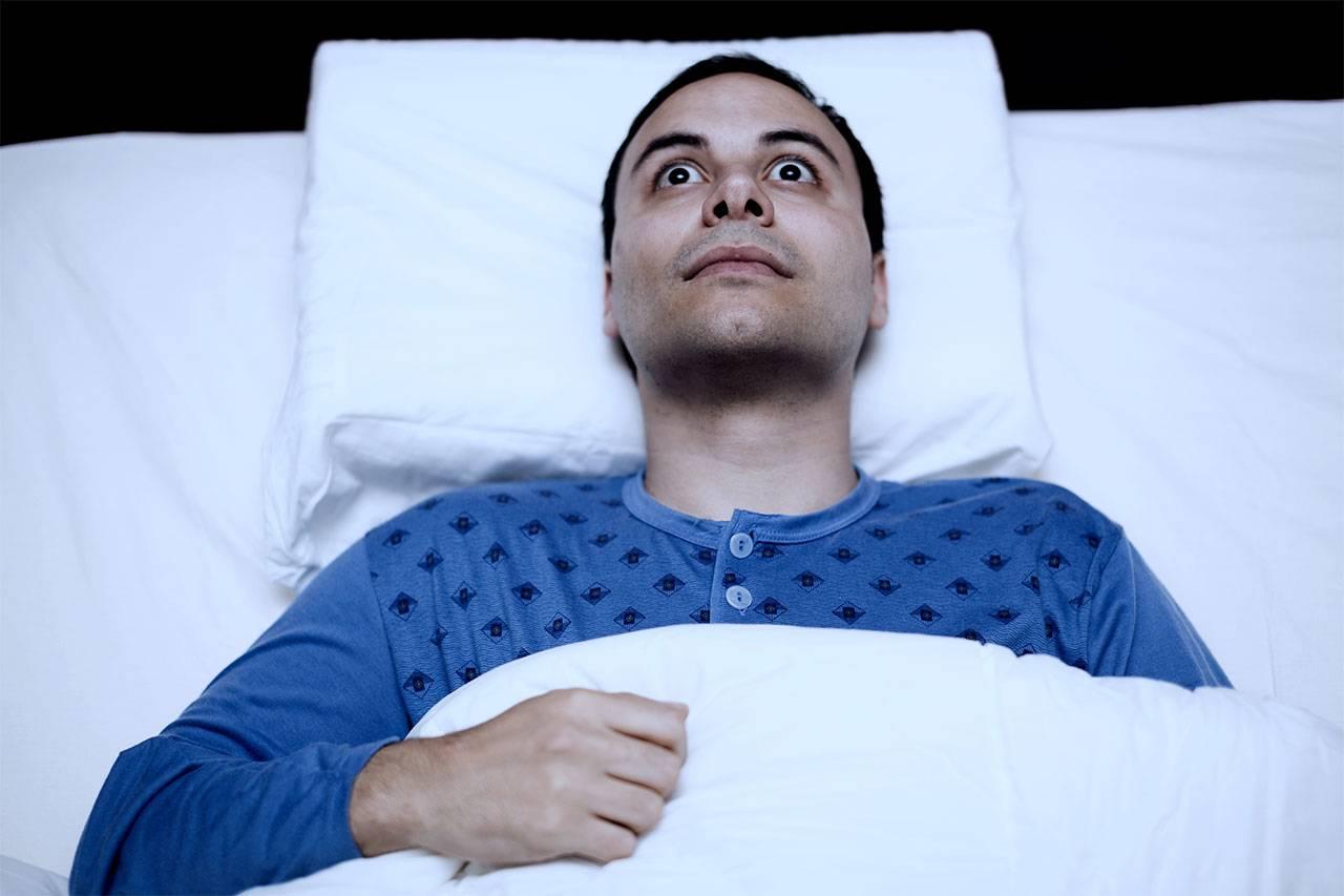 Что делать, если мучает бессонница при всд?