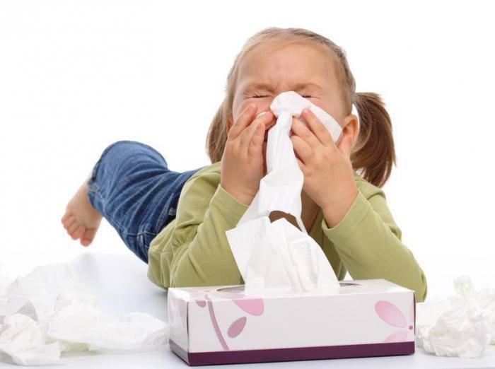 как вылечить ребенку затяжной насморк