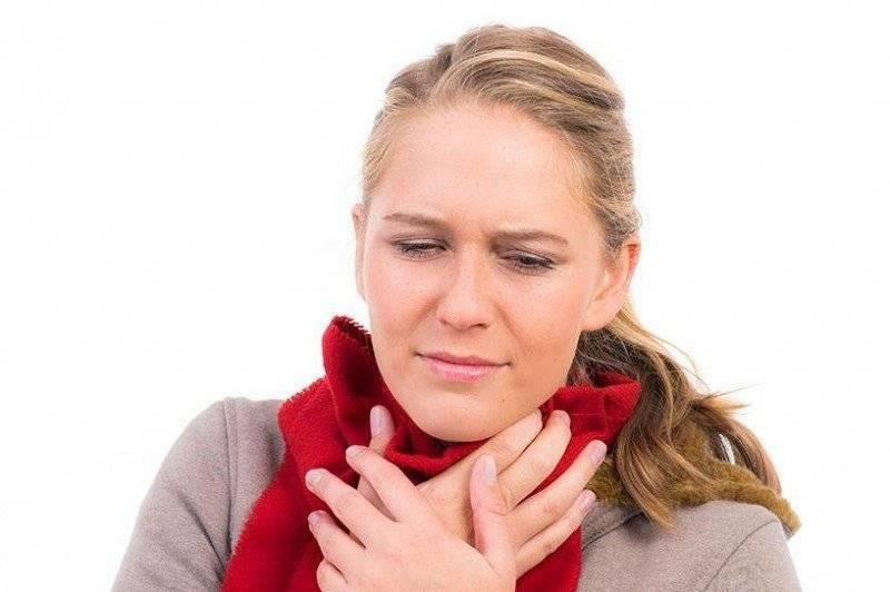 Першение в горле и кашель в горле при беременности