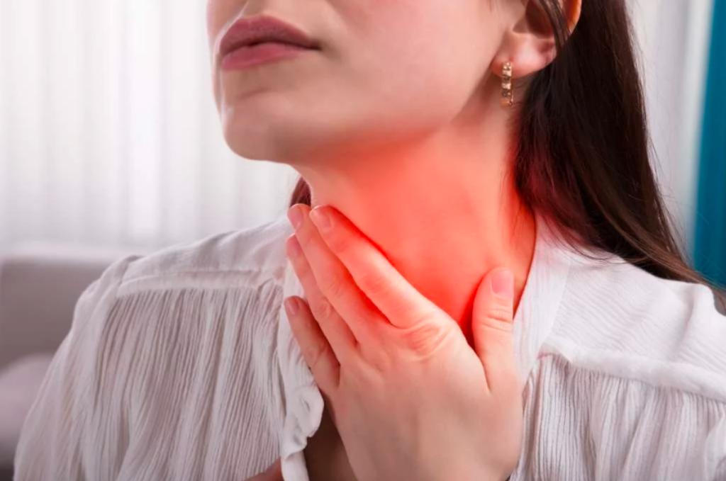 Полоскать горло при тонзиллите