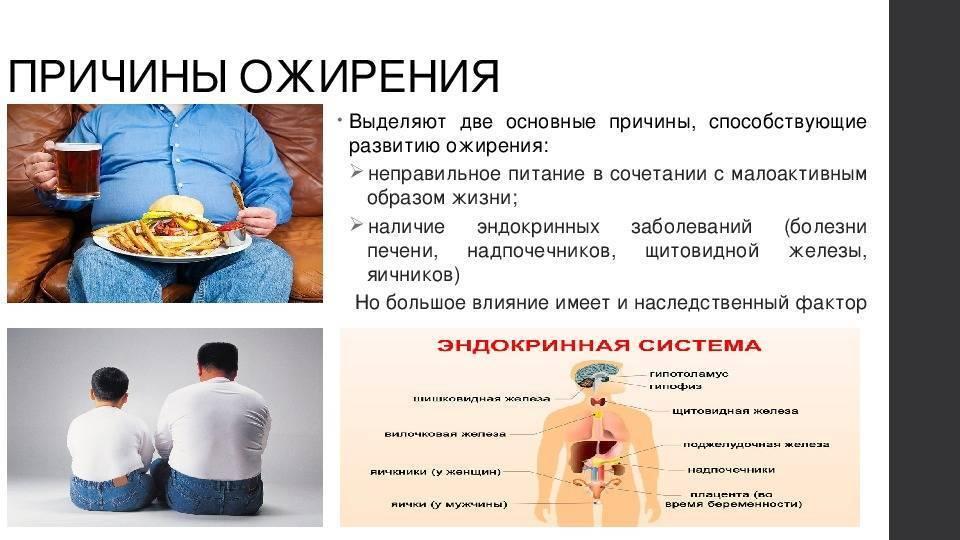 Ожирение: причины, симптомы и лечение