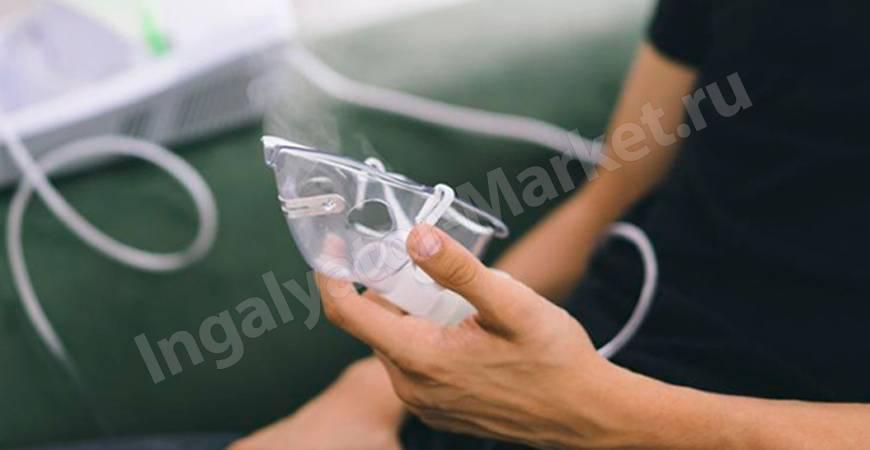 Ингаляции при ангине: препараты, методика проведения
