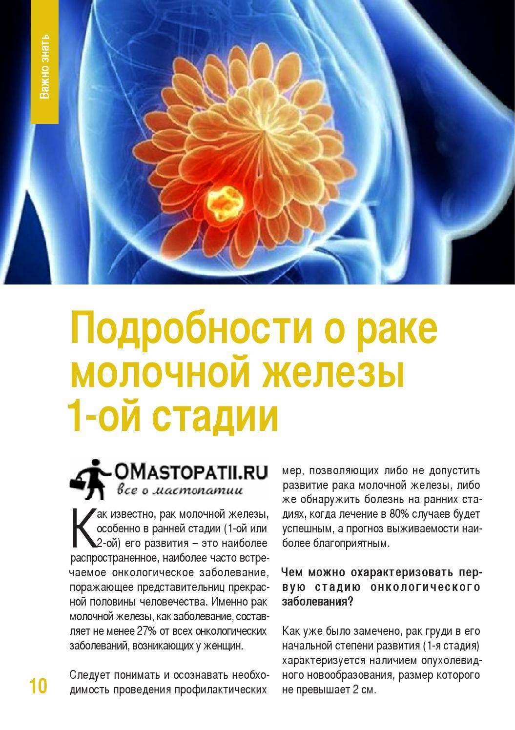 Классификация рака молочной железы: какие существуют виды опухолей груди