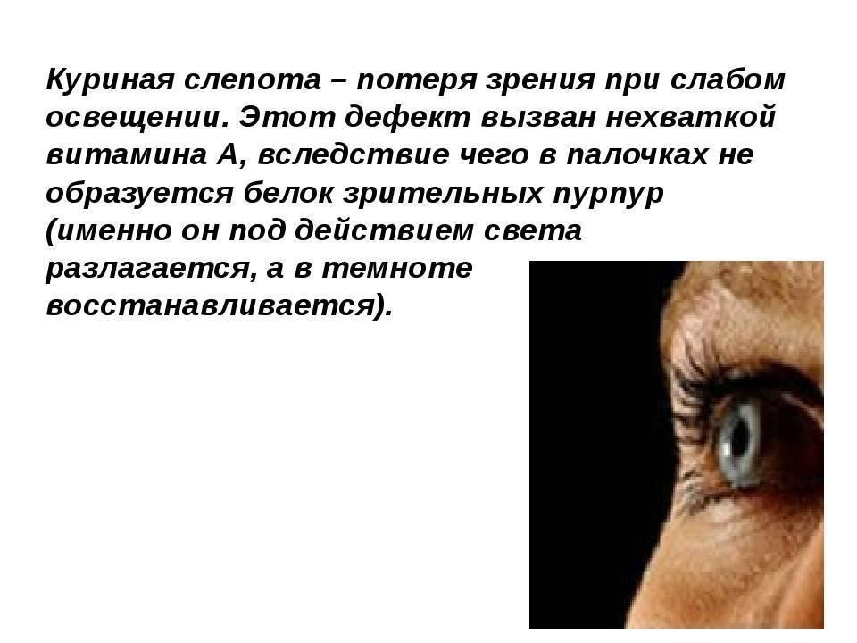Что такое сумеречное зрение возможные нарушения