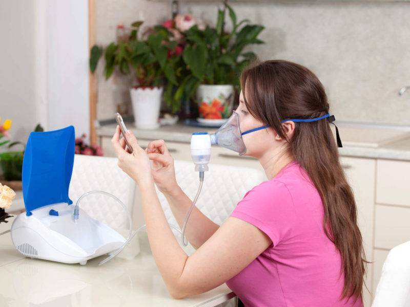 ингаляции при фарингите в домашних условиях