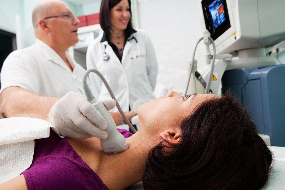 как делается узи щитовидной железы