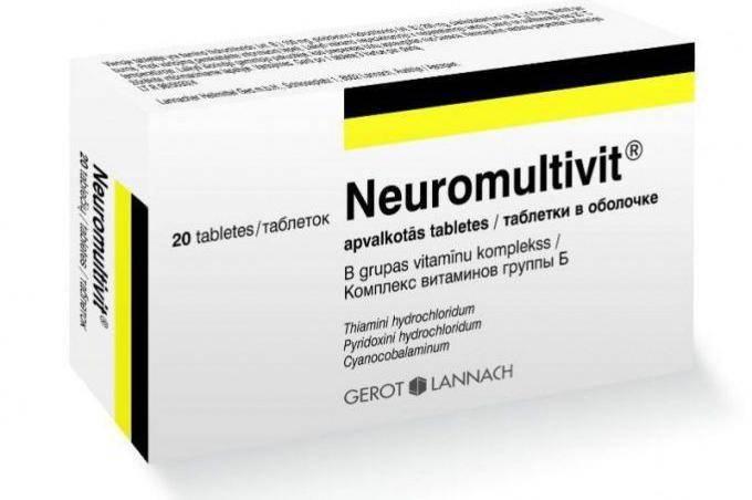 лекарства при невралгии