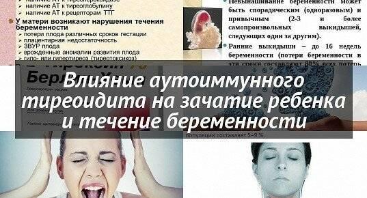 Как заболевания щитовидной железы влияют на зачатие
