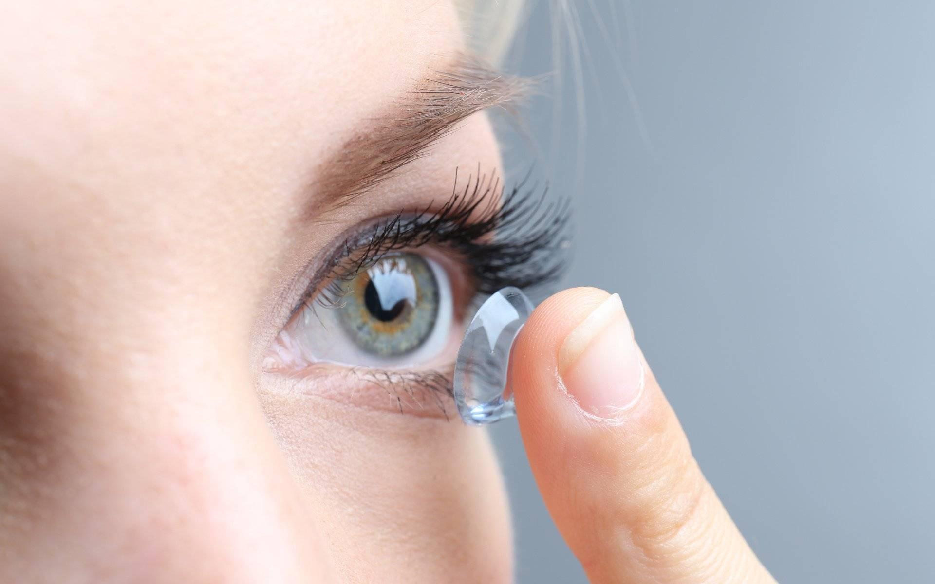как носить линзы для глаз