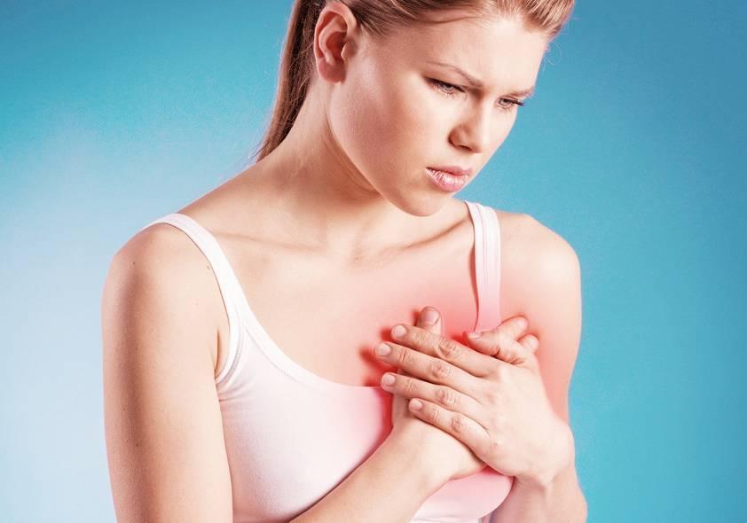 Сильно болит грудь у мужчин