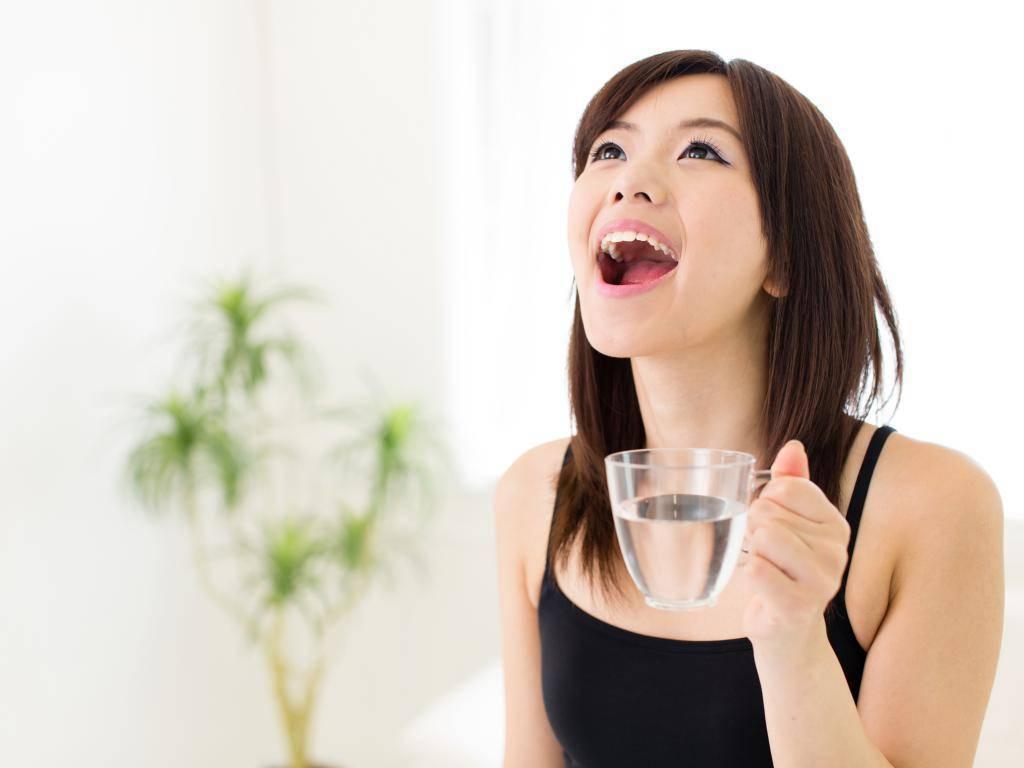 раствор соли для полоскания горла