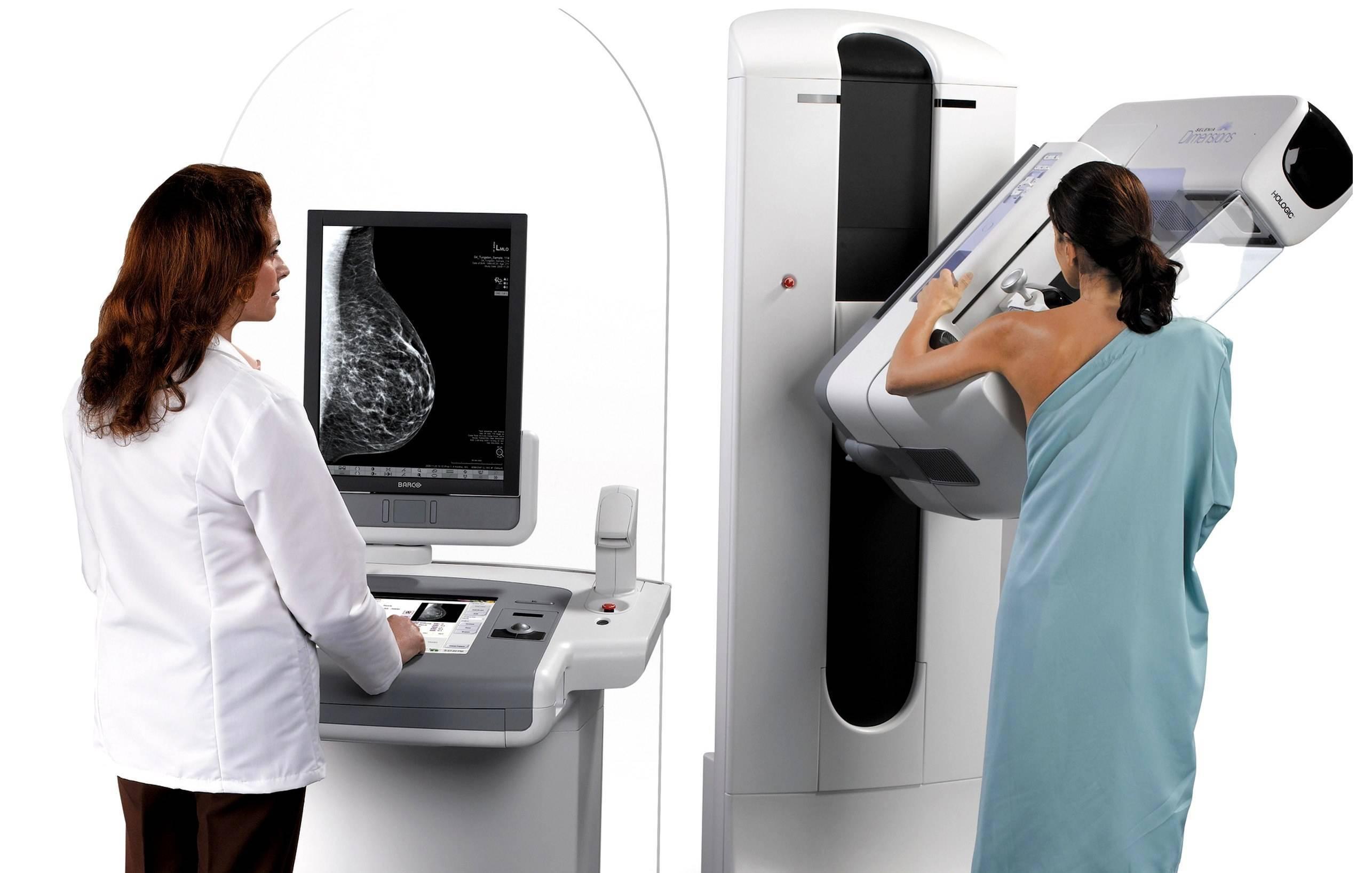 маммография со скольки лет