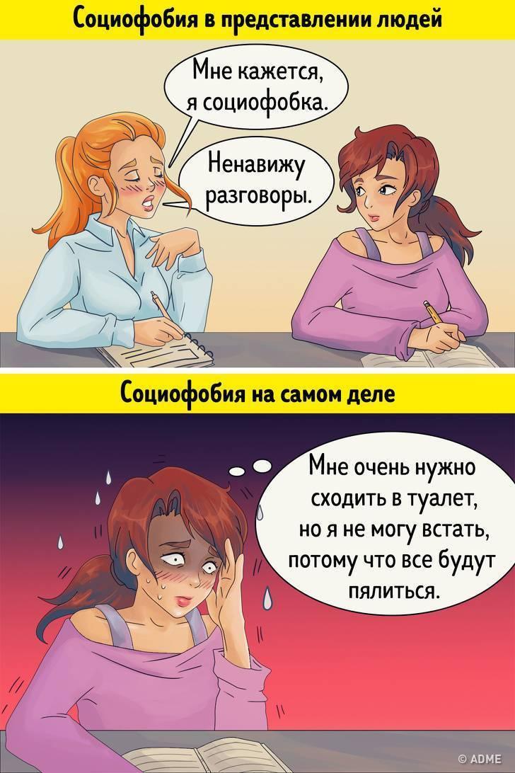 социальные фобии